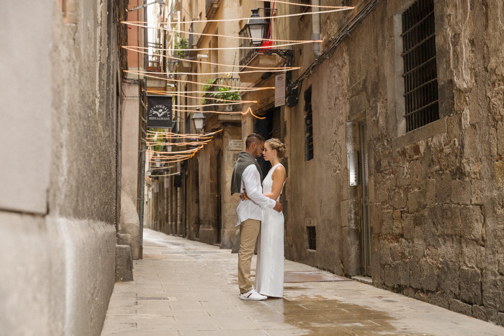 wedding photographer Rocha Studio Osnabrück - Engagement Shoot mit Melissa und Felipe in Barcelona